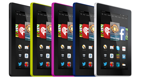 Varios Kindle Voyage de distintos colores