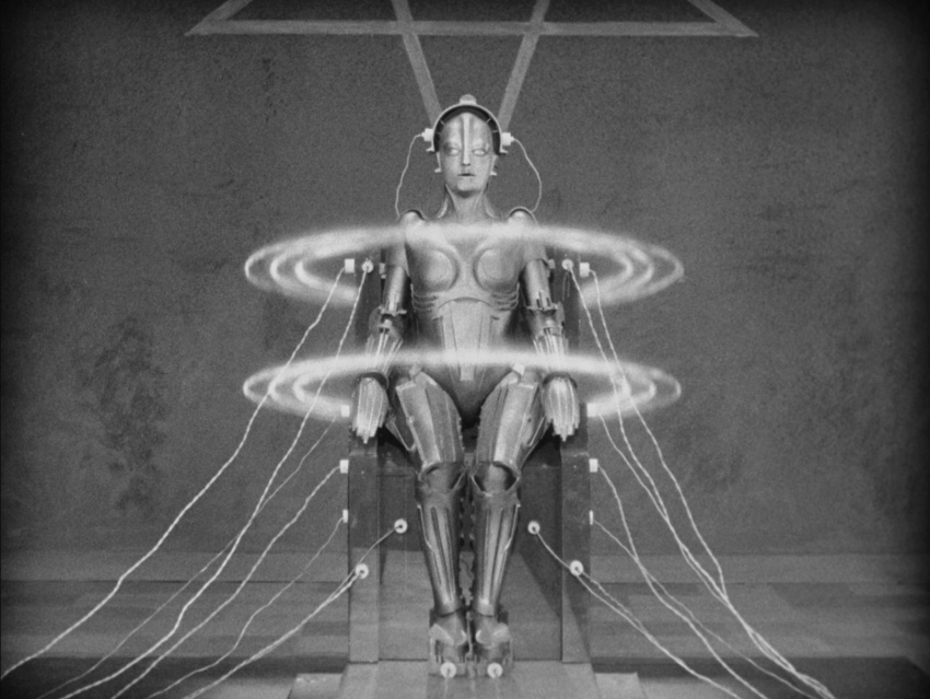 Imagen de pelicula de Metropolis
