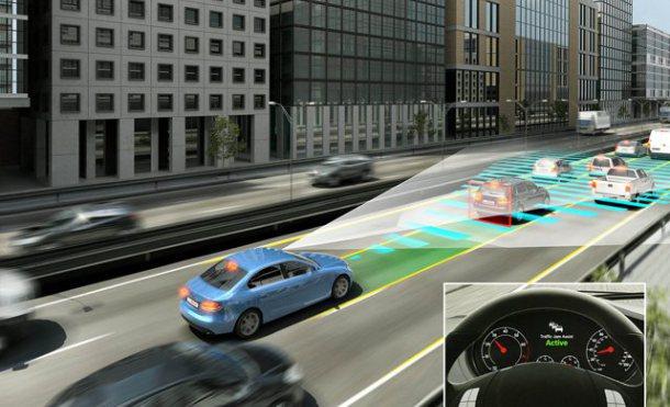 Reproducción virtual de automovil con sensores