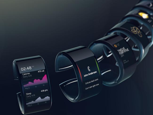 Varios Smartwatch en fondo negro