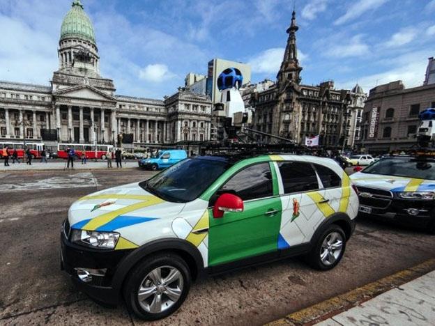 Auto de Google en el Congreso de la Nación Argentina