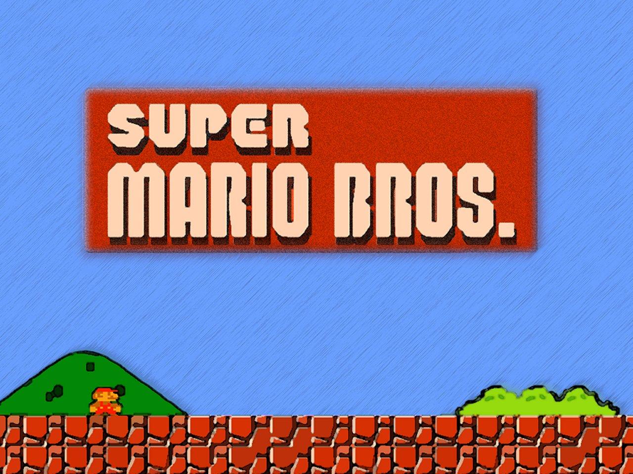 Inicio de videojuego Mario Bros de Family Game