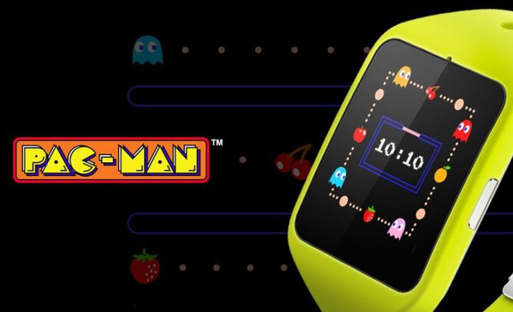 Smartwatch de Pac-Man