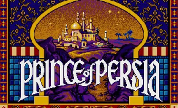 Presentación de juego Principe de Persia de DOS