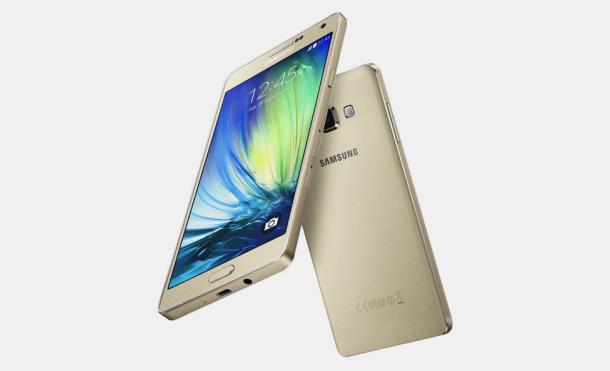 Dos Samsung A7 de frente y dorso
